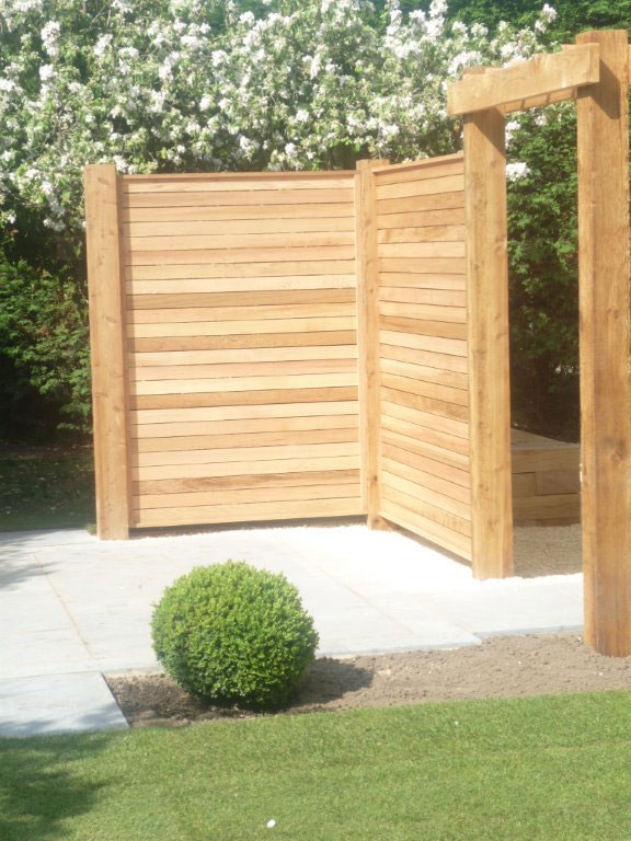 Western Red Cedar screen - Godmanchester