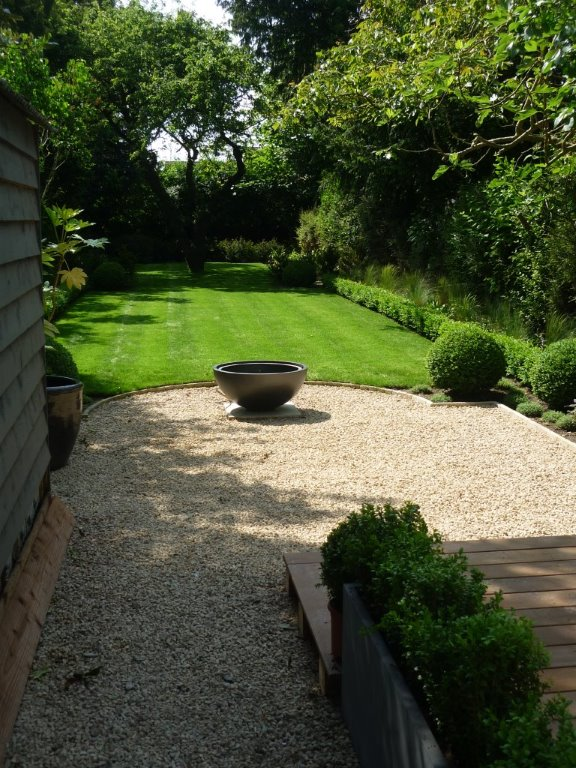 Victorian garden, Cambridgeshire