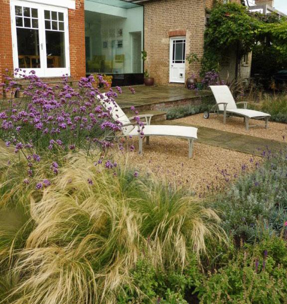 Private garden, Cambridge
